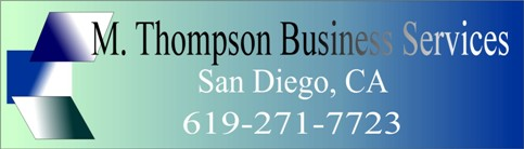 M. Thompson Business Services, San Diego, CA